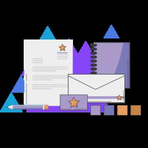 huisstijl ontwerpen illustratie digitale marketing diensten