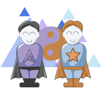teamwork illustratie