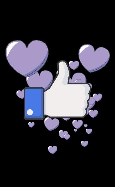 facebook likes illustratie azemble digitale marketing