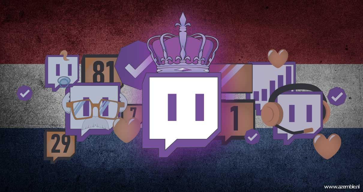 Top 100 Nederlandse Twitch Streamers (en waarom staan ze daar)